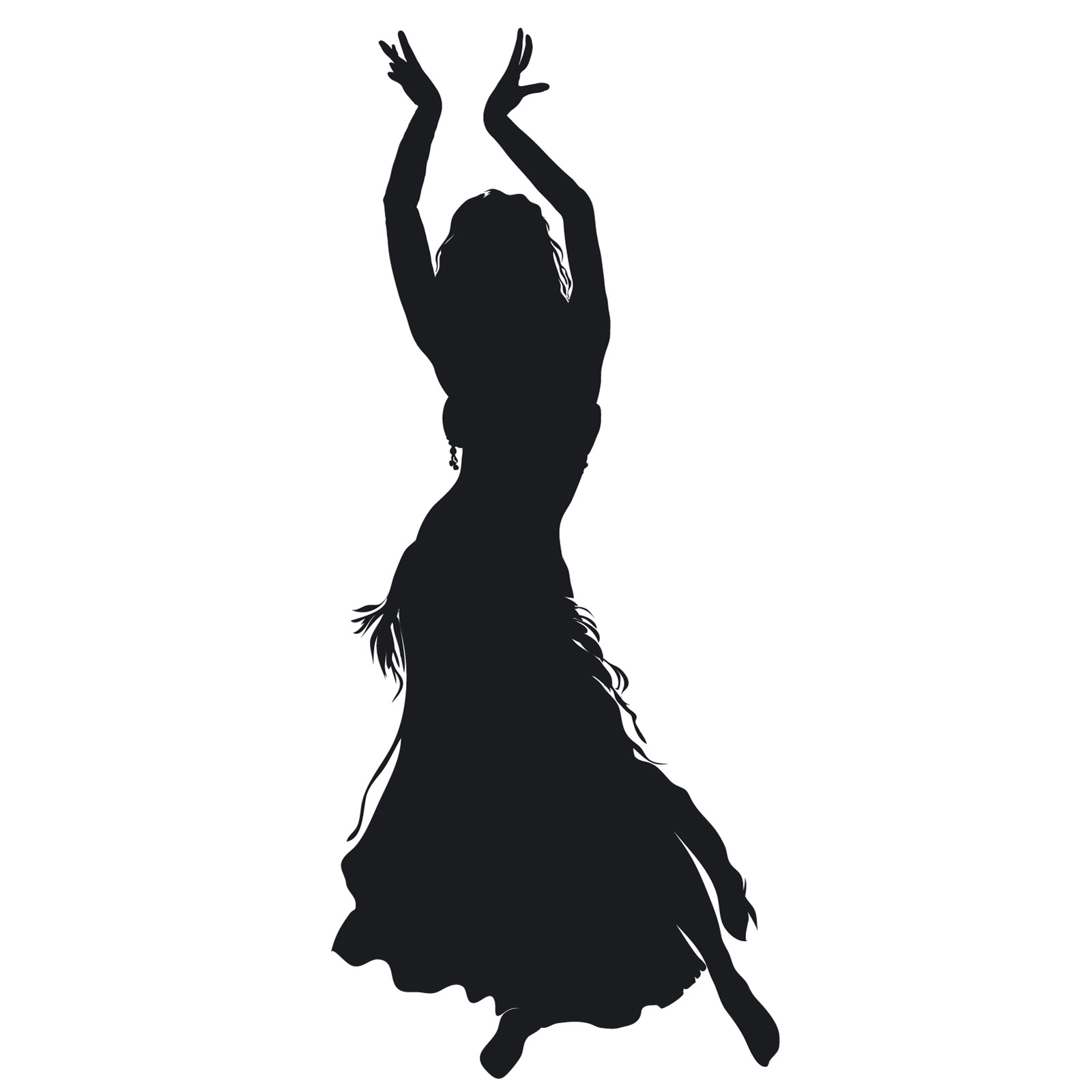 belly dancer silhouette i am also interested in and practice other dance and sport 7417